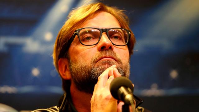 Juergen Klopp At Borussia Dortmund Press Conference In Dortmund, Germany